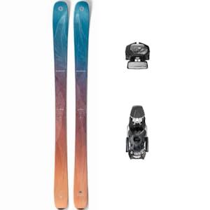 Ski med bindinger