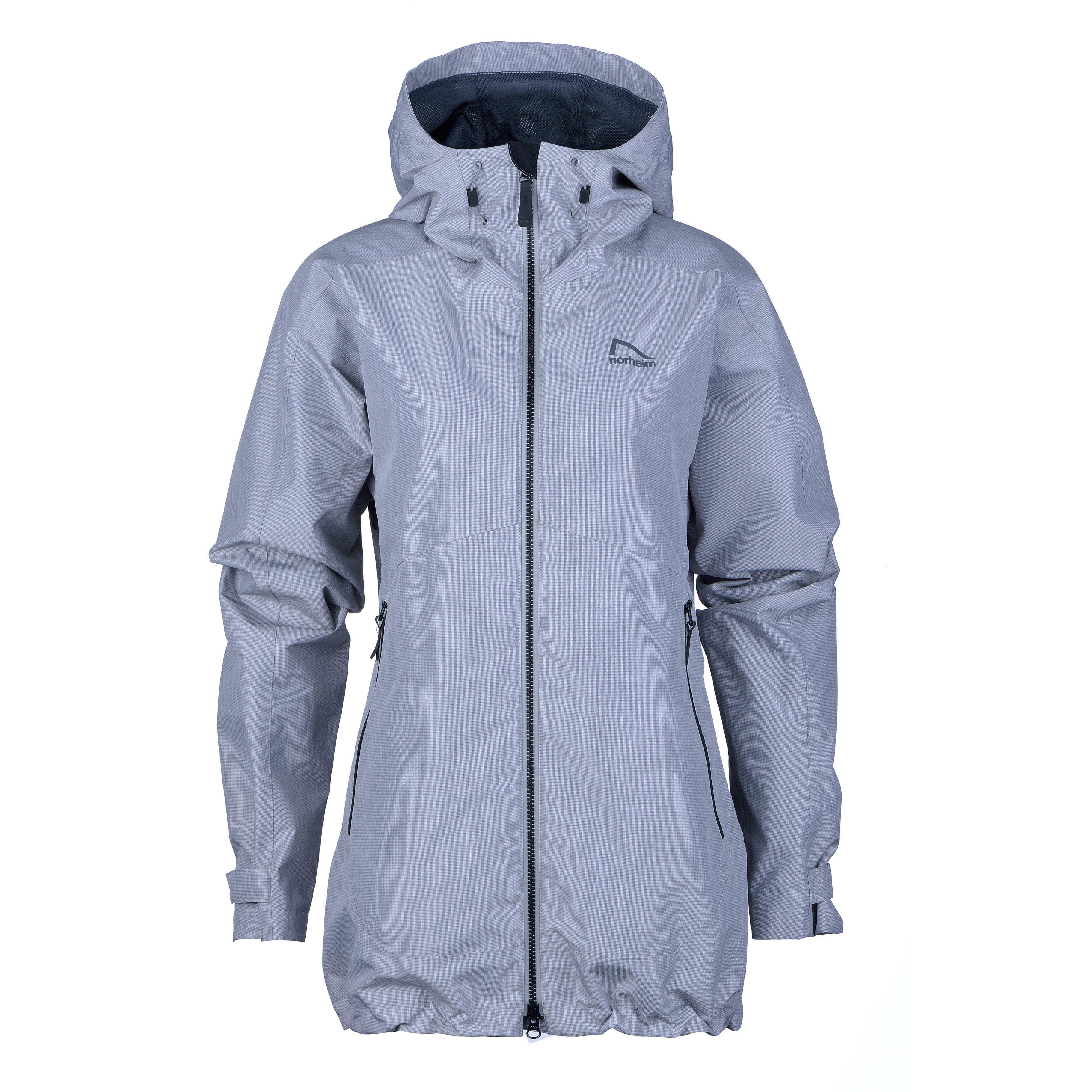 b022cd35 Norheim Granitt 2-lags jakke W's - frost gray - Lillehammer sport