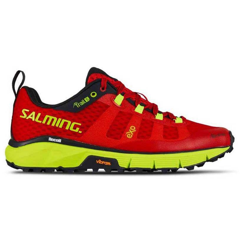 Salming Trail 5 W poppy redsafety yellow