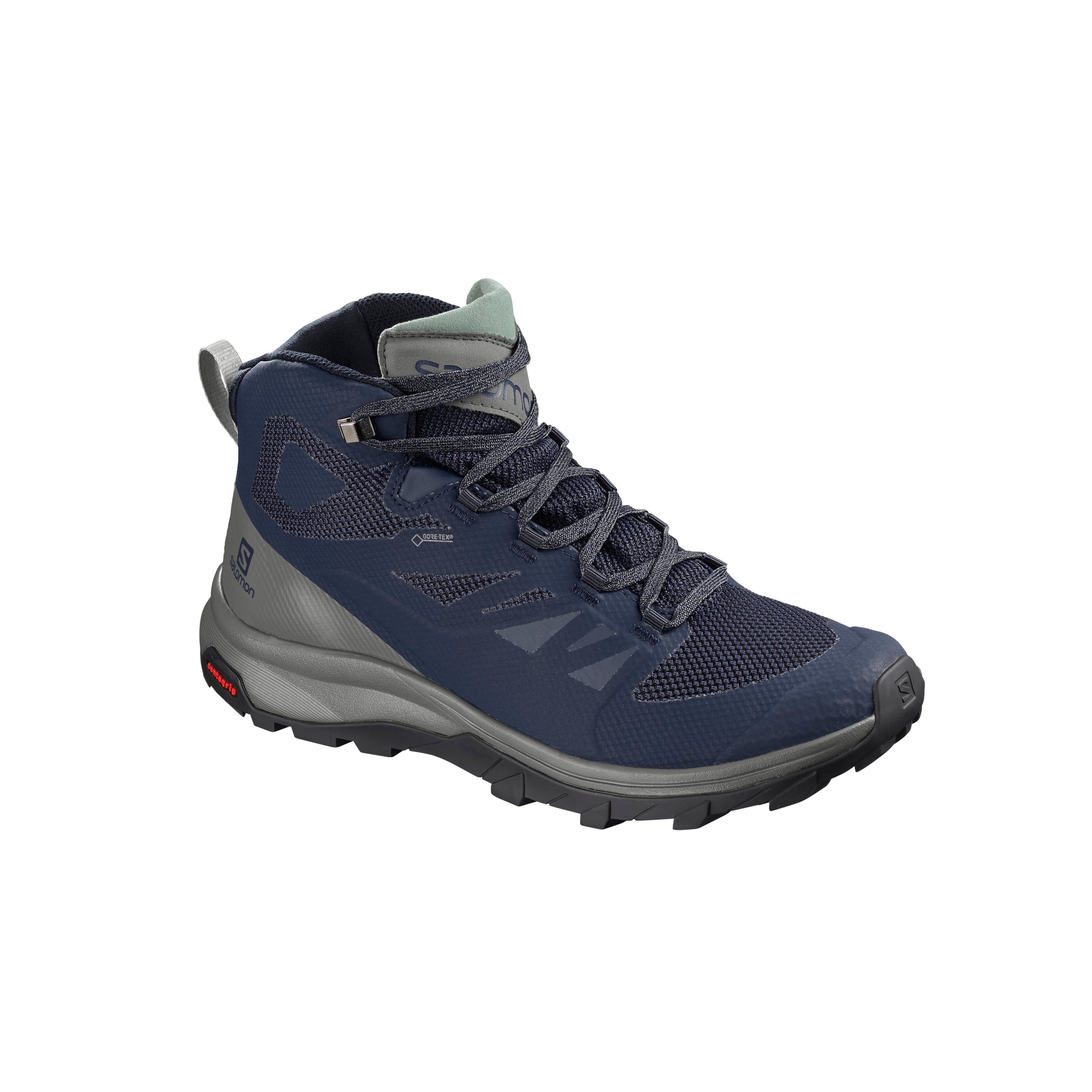 Intersport SALOMON OUTline Mid GTX tursko dame | Intersport